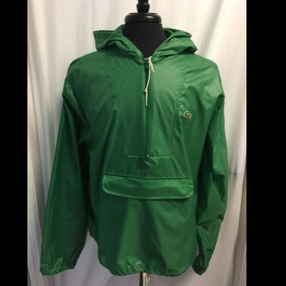 279f074e1aa9fb Lacoste Other - Vintage Izod Lacoste Packable Hooded Jacket